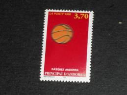ANDORRE FRANCAIS ANDORRA YT 468 ** - SPORT BASKET BALL BALLON - - Andorre Français