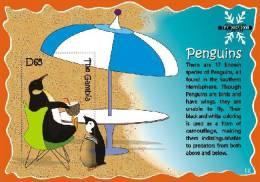 gam0705ss Gambia 2007 Birds International Polar Year s/s IPY 2007~2008 Penguin Fruit