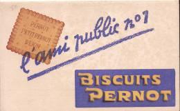 """Biscuits Pernot/ """"L'Ami Public Numéro 1""""/ DIJON/Côte D'Or/ Vers 1920                BUV38 - Sucreries & Gâteaux"""