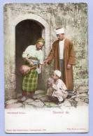 Vintage Card Karte Türkei Istanbul Constantinople Marchand D Eau About 1905 (483) - Türkei