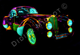 """ Bugatti Atlantic ""  Didier Mignot - Autres Collections"