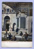Vintage Card Karte Türkei Istanbul Salut De Constantinople Fontaine A Pacha - Bachtche About 1905 (484) - Türkei