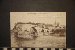 CP, 84, Avignon Le Pont St Benezet N°50 Edit ELD ? 1907 - Avignon (Palais & Pont)
