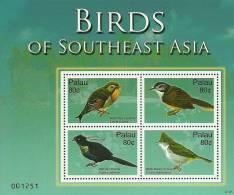 pal0705sh Palau 2007 Birds s/s