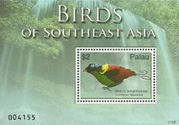pal0705ss Palau 2007 Birds s/s