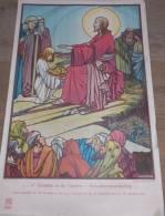 Affiche Devotie Illustr. Jos Speybrouck -  4° Zondag In De Vasten - Broodvermeerdering - Affiches