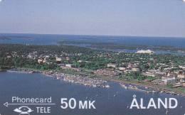 Phonecard ALand 50 MK (Mint,Neuve) Très Rare ! - Aland