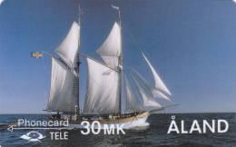 Phonecard ALand 30 MK (Mint,Neuve) Très Rare ! - Aland