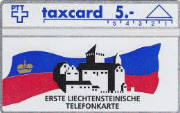 First Card Liechtenstein 109 E (Mint,Neuve) Très Rare ! - Liechtenstein