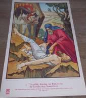 Affiche Devotie Illustr. Jos Speybrouck - 12° Zondag Na Pinksteren - De Barmhartige Samaritaan - Affiches