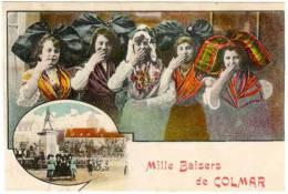 Mille Baisers De Colmar, Fantaisie Ville, Fleurs, Alsaciennes - Colmar