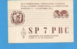 SKIERNIEWICE : Congrès International De L'horticulture - Pologne