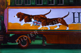 """"""" English Dogs """"  Didier Mignot - Autres Collections"""