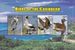 sgc1109sh Canouan St. Vincent 2011 Birds s/s Crane Booby