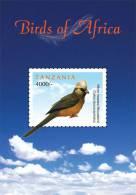 tan1116ss Tanzania 2011 Birds of Africa s/s