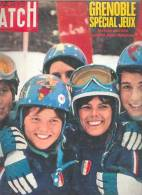 Paris Match 10 Fevrier 1968 - 983 - J. O. Grenoble - Informations Générales