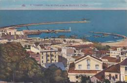 TANGIER - VUE DU PORT PRISE  DU BOULEVARD PASTEUR - Tanger