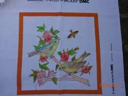 Collection Pastels A Broder-dmc-mesanges  E103- - Loisirs Créatifs