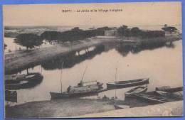 Mali - Westafrika, MOPTI - Pier Und Das Heimatdorf, 191?, Sehr Seltene Karte - Mali