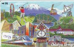 Télécarte Japon *  TRAIN  (13.297) Railway Japan Phonecard * ZUG Telefonkarte * TREIN * DAMPF * - Trains