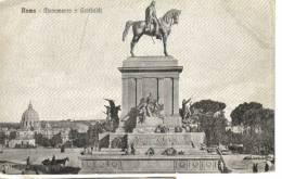 Cartoline Monumenti-monumento A Garibaldi-roma - Monuments