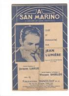 A San Marino - Scores & Partitions