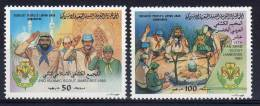 1983, 15e Jamboree Panarabe, Y&T No. 1216 + 1217, Neuf **, Lot 34687 - Libië