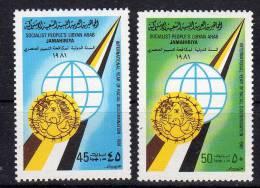 1981,  Année Int. Contre La Discrimination -  Libye  ,  Y&T No. 925 - 926,  Neuf **,  Lot 34825 - Libië