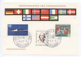 Germany  International Exhibition Hannover 15-9-1957 - [7] Federal Republic