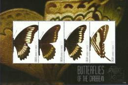 sgc1120sh Canouan St. Vincent 2011 Insect s/s Butterflies