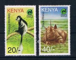 Kenia 1996 Tiere Mi.Nr. 689/91 Gestempelt/ungebraucht - Kenia (1963-...)