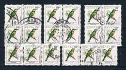 Kenia 1993 Vögel Mi.Nr. 580 18 Mal Gestempelt - Kenia (1963-...)
