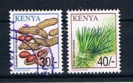 Kenia 2001 Pflanzen Mi.Nr. 753/55 Gestempelt/ungebraucht - Kenia (1963-...)