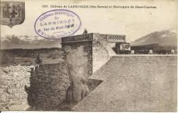 CHÂTEAU DE LARRINGES ET MONTAGNES DU HAUT-CHABLAIS. SCAN R/V - Evian-les-Bains