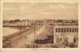DJIBOUTI - RUE D'AMBOULI, CLICHE A. DI BONA.  (TIMBRE).SCAN R/V - Djibouti