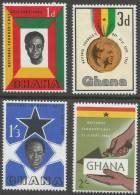 Ghana. 1962 Founders Day. MH Complete Set - Ghana (1957-...)