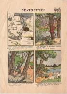 "Imagerie Moderne/Louis Bellenand & Fils/fontenay Aux Roses/devinettes/ "" L'Ours Polaire/Dentol/1936   JE65 - Ohne Zuordnung"