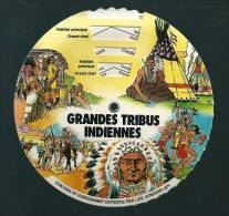 R529 - FROMAGERIE LES JUNIORS - JUNIORAMA - TRIBUS INDIENNES - COMANCHES SIOUX KIOWAS SEMINOLES CHEYENNES - Unclassified