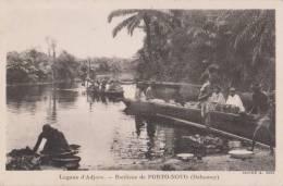 DAHOMEY LAGUNE D´ ADJARA BANLIEU DE PORTO NOVO - Dahomey