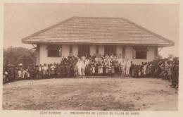 COTE D´ IVOIRE ( INAUGURATION DE L´ ECOLE DE DABOU ) - Côte-d'Ivoire