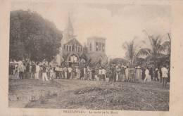 CONGO BRAZZAVILLE ( LA SORTIE DE LA MESSE ) - Brazzaville