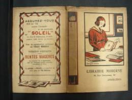BuAut. 20. Protège Livre Avec Publicité Librairie Moderne à Charleroi. - Andere Verzamelingen