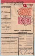 Spoorwegfragment, Afst. HEIZYDE 04/05/1940 (lijn Jette - Dendermonder) --  Heizijde - 1923-1941