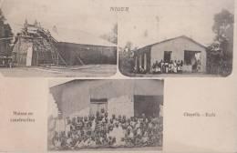 NIGER ( Maison En Construction Chapelle Ecole ) - Niger