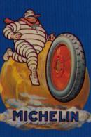 """Carte Postale Métal """"MICHELIN"""" - Plaques Publicitaires"""