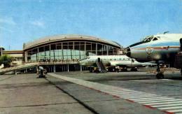 AVIATION CIVILE - 1975 - AVIONS Sur L´ AÉROPORT BORYSPIL De KIEV - UKRAINE / U.S.S.R. (b-624) - 1946-....: Moderne