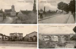 4 Cartes Postales De CHAMPDOTRE - France