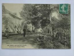 LES ORMES SUR VOULZIE ( 77 ) LE LAVOIR DE LA ROUTE DE BRAY  CPA - Other Municipalities
