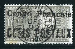 CONGO  Colis Postaux  No 2 Oblitéré  Signé - Congo Français (1891-1960)