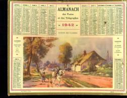 Calendrier 1941 Paysage Des Flandres - Calendriers